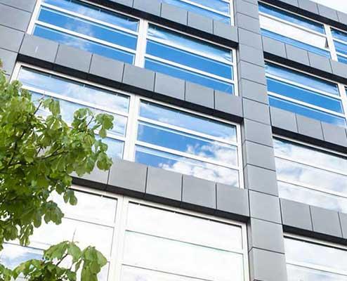 Fassadenreinigung für Gebäude